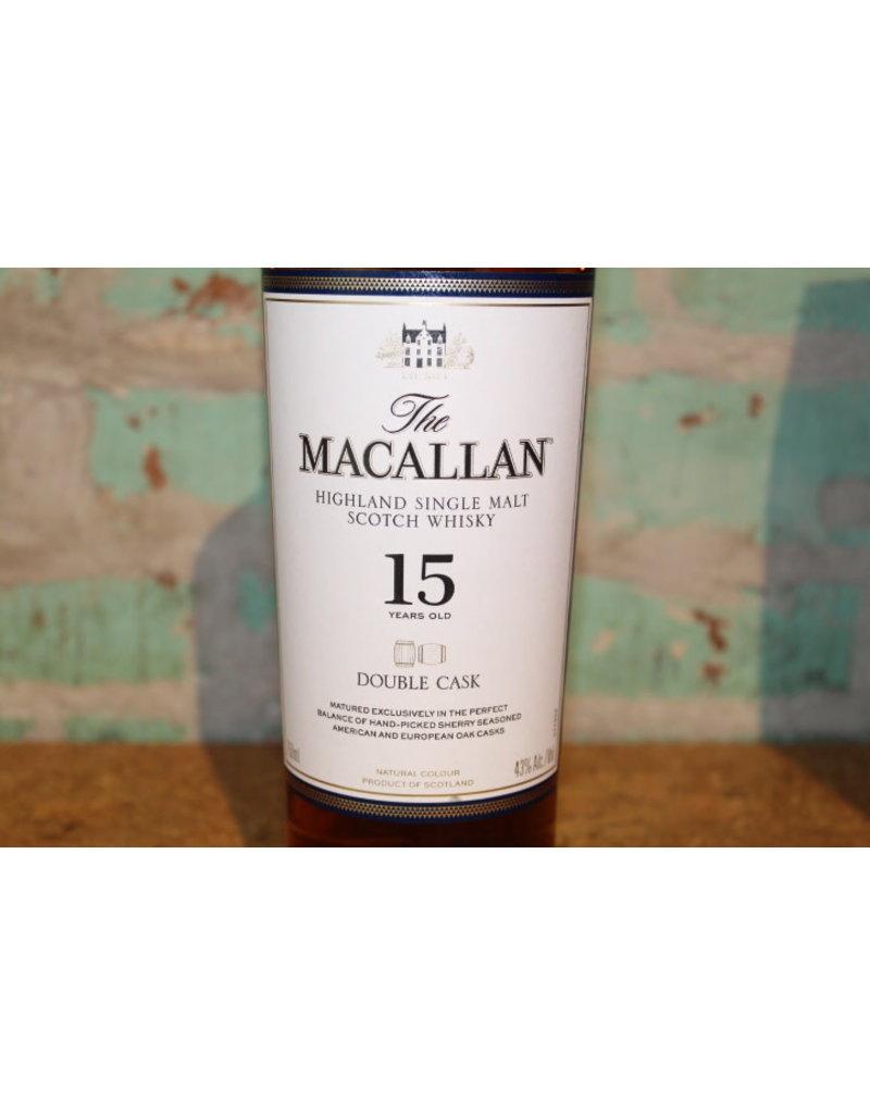 MACALLAN DOUBLE CASK 15 YEAR