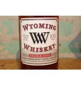 WYOMING DOUBLE CASK BOURBON WHISKEY
