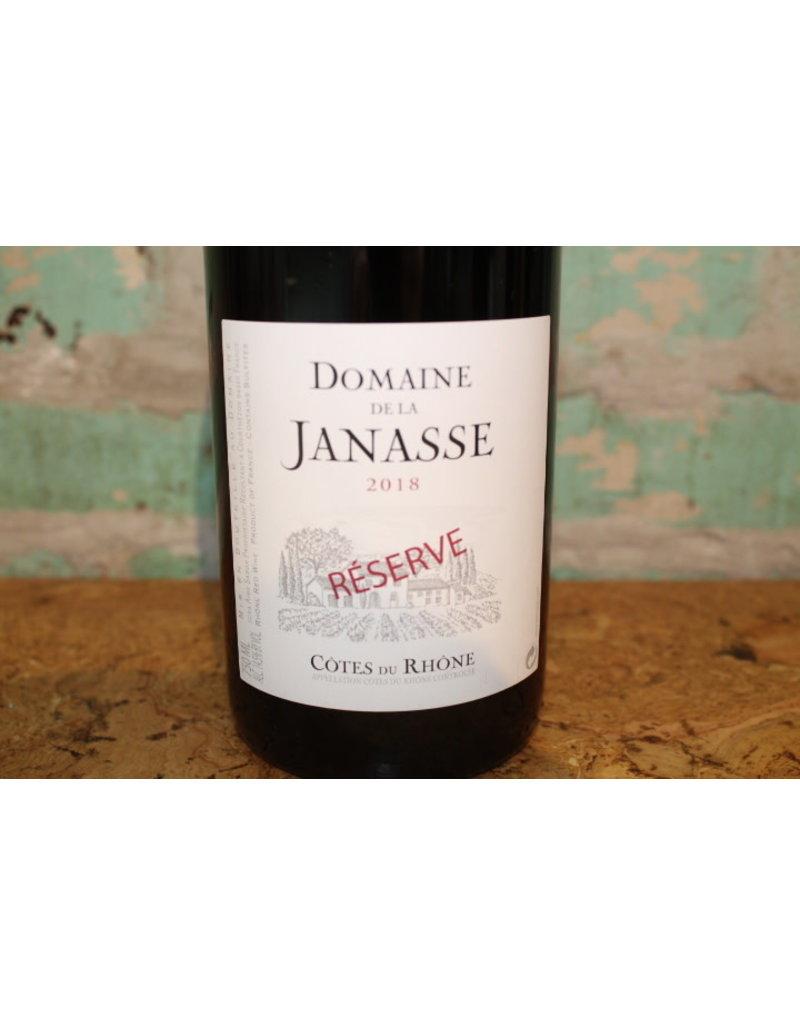 DOMAINE DE LA JANASSE COTES DU RHONE RESERVE