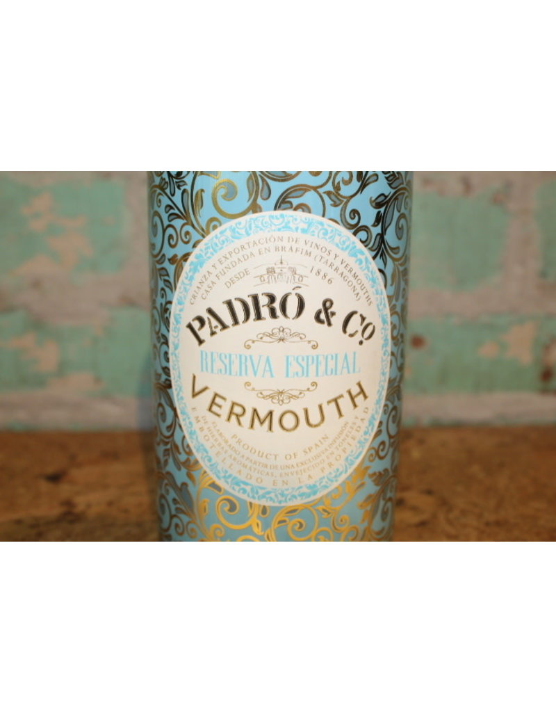 PADRO & CO VERMOUTH RESERVA ESPECIAL RED