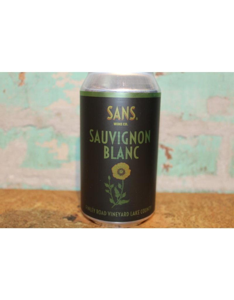 SANS WINE CO. SAUVIGNON BLANC