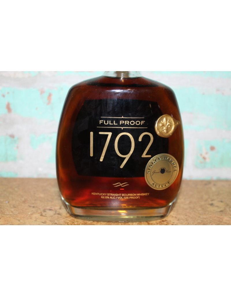 1792 FULL PROOF BOURBON GRANDE KREWE BARREL SELECT