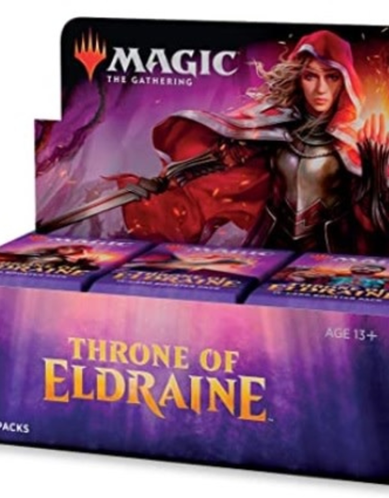 Wizards of the Coast Magic The Gathering Booster Box Thrones of Eldraine ELD