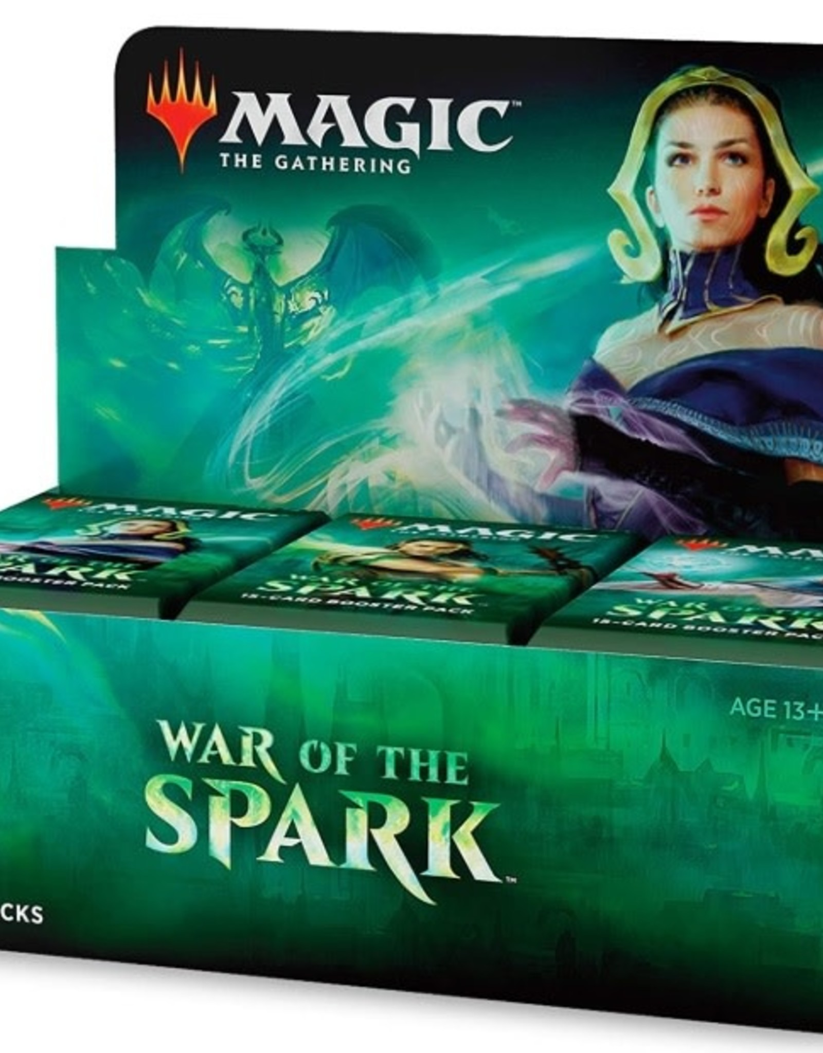 Wizards of the Coast Booster Box War of the Spark
