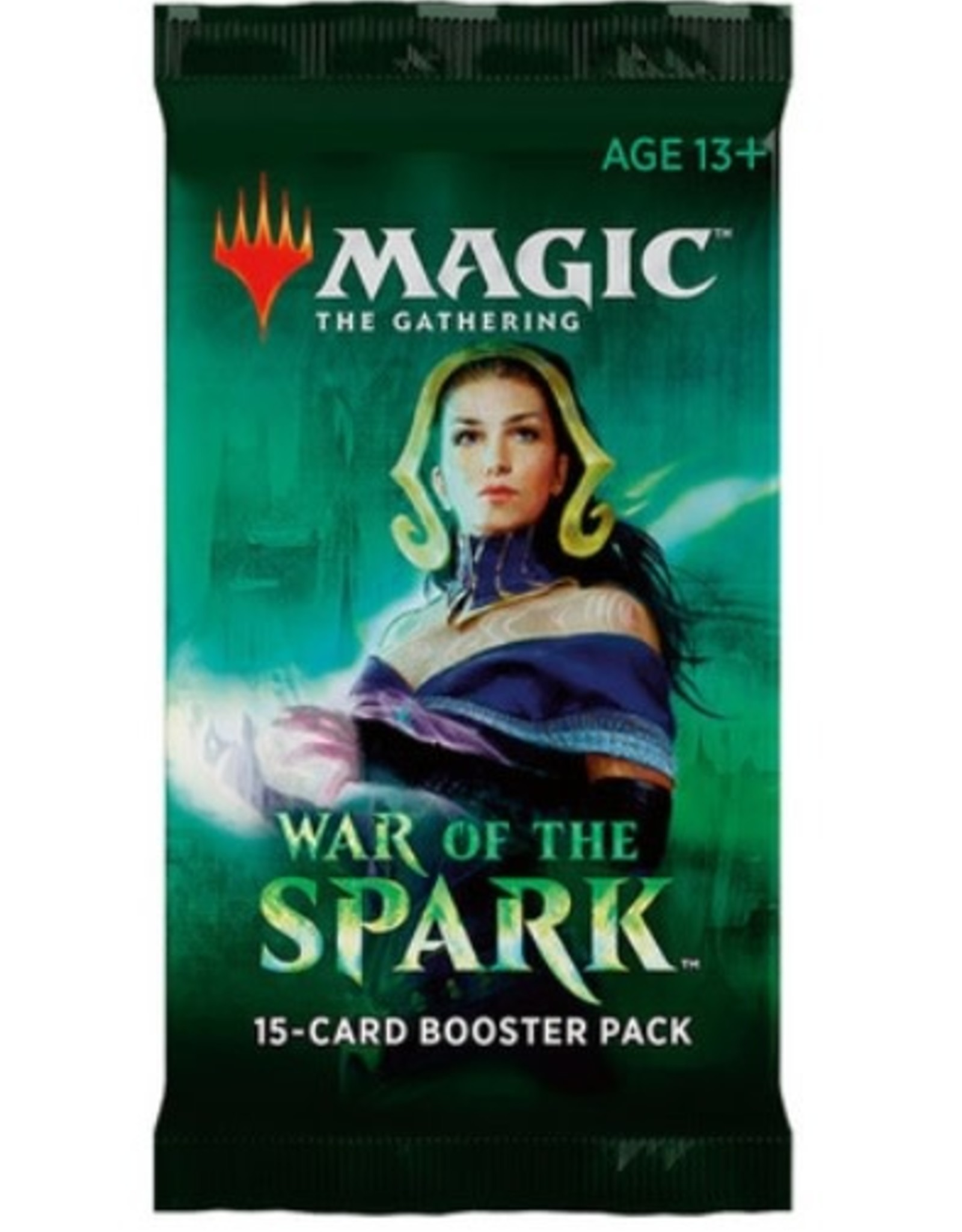 Wizards of the Coast Magic The Gathering Booster Pack War of the Spark