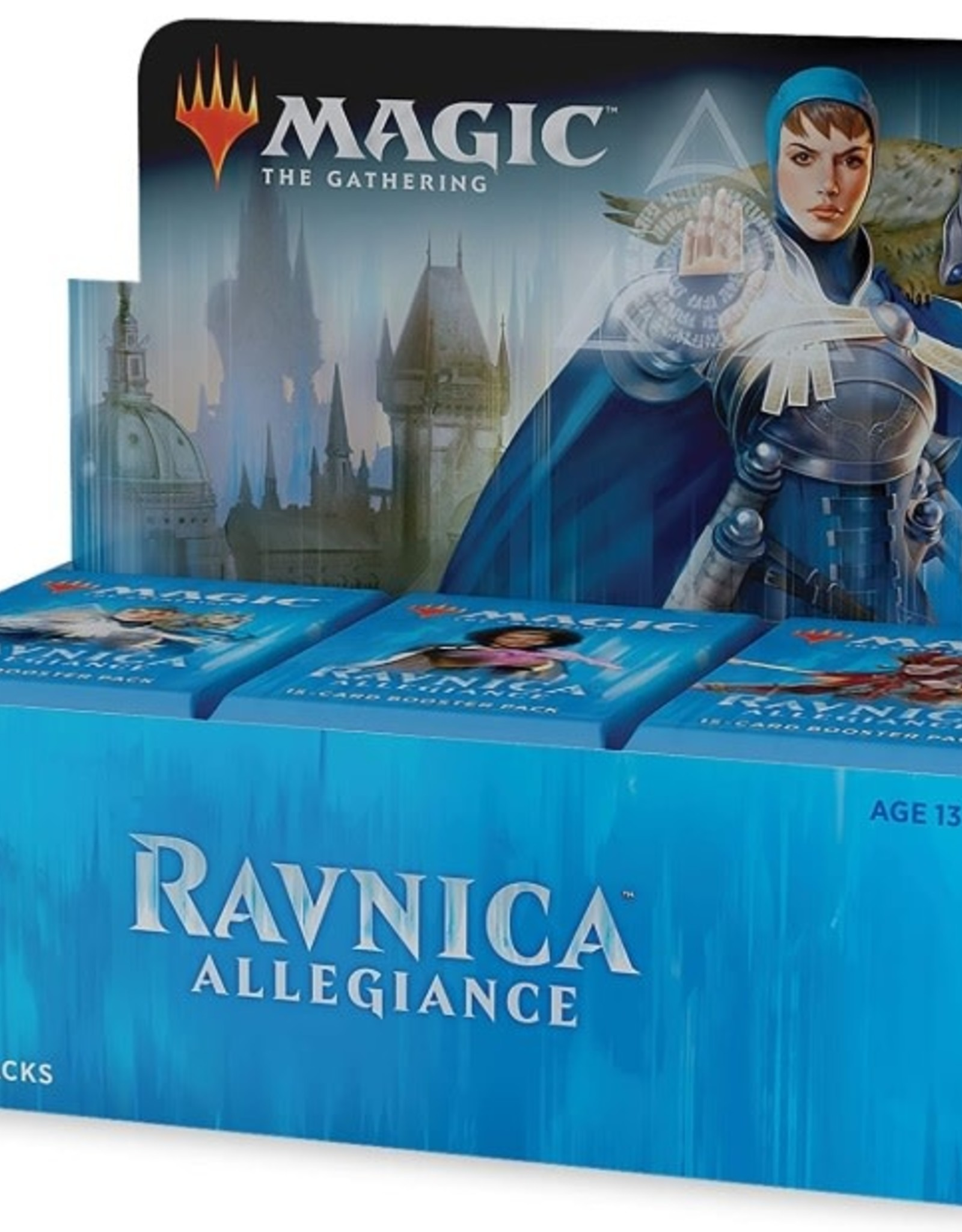 Wizards of the Coast Magic The Gathering Booster Box Ravnica Allegiance