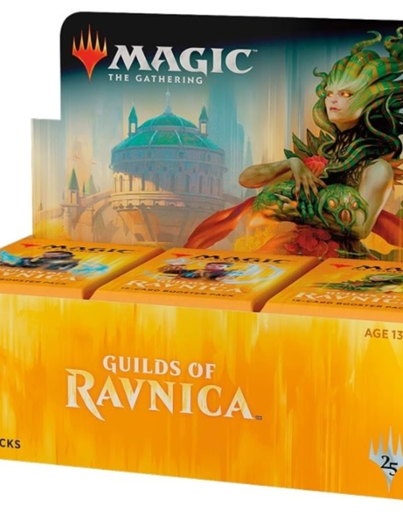 Wizards of the Coast Magic The Gathering Booster Box GRN Guilds of Ravnica