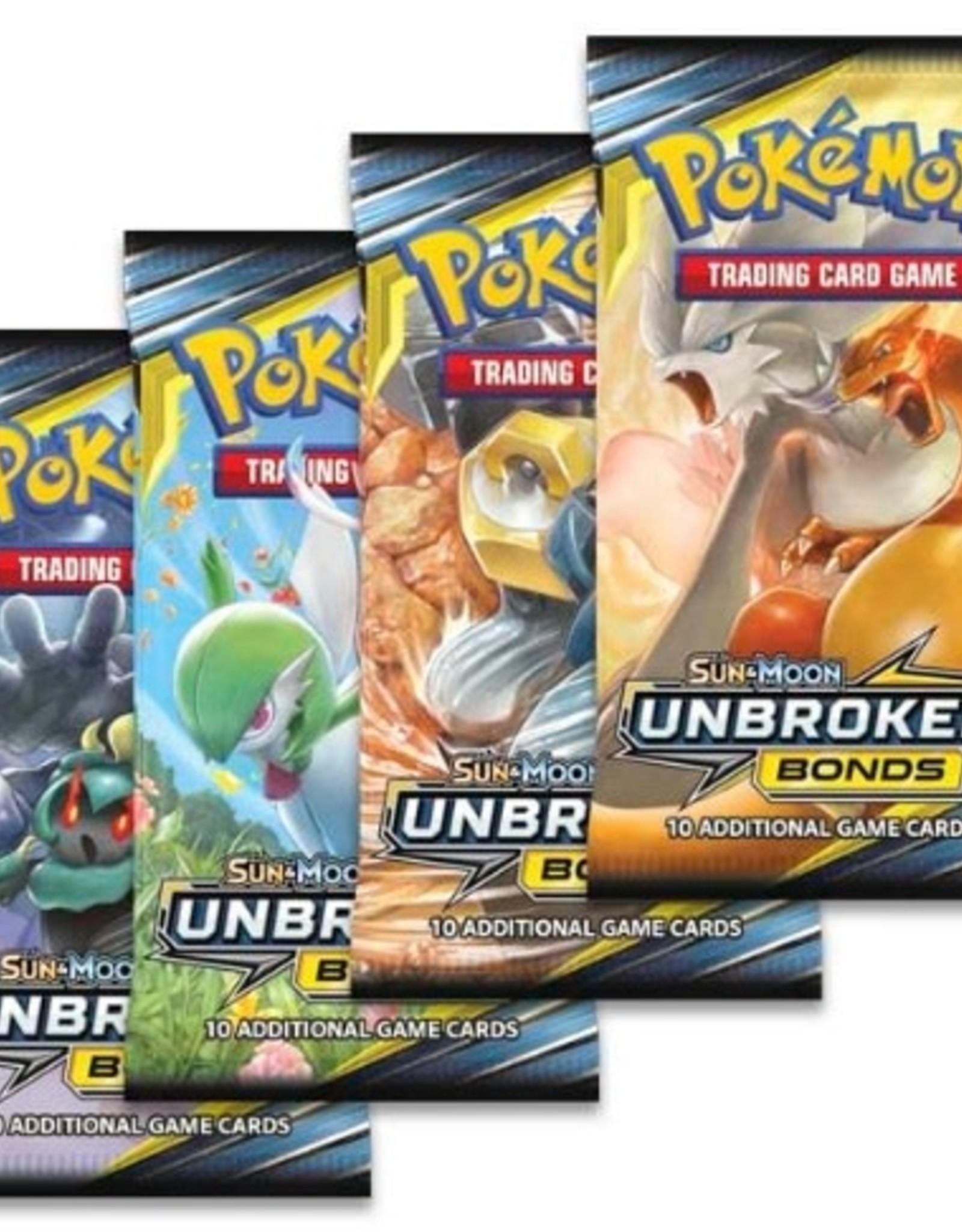 Pokemon Pokemon Sun & Moon Unbroken Bonds Booster Pack