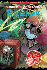 Wizards of the Coast Dungeons & Dragons vs Rick and Morty RPG Adventure