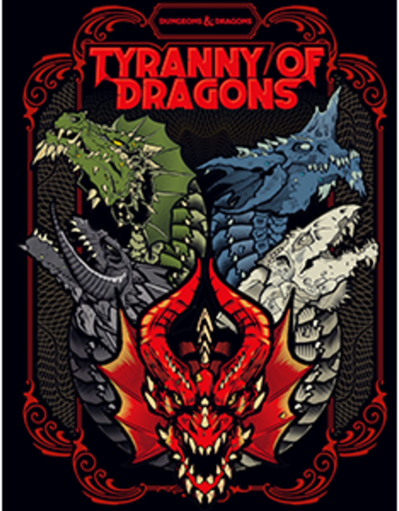 Wizards of the Coast Dungeons & Dragons Tyranny of Dragons