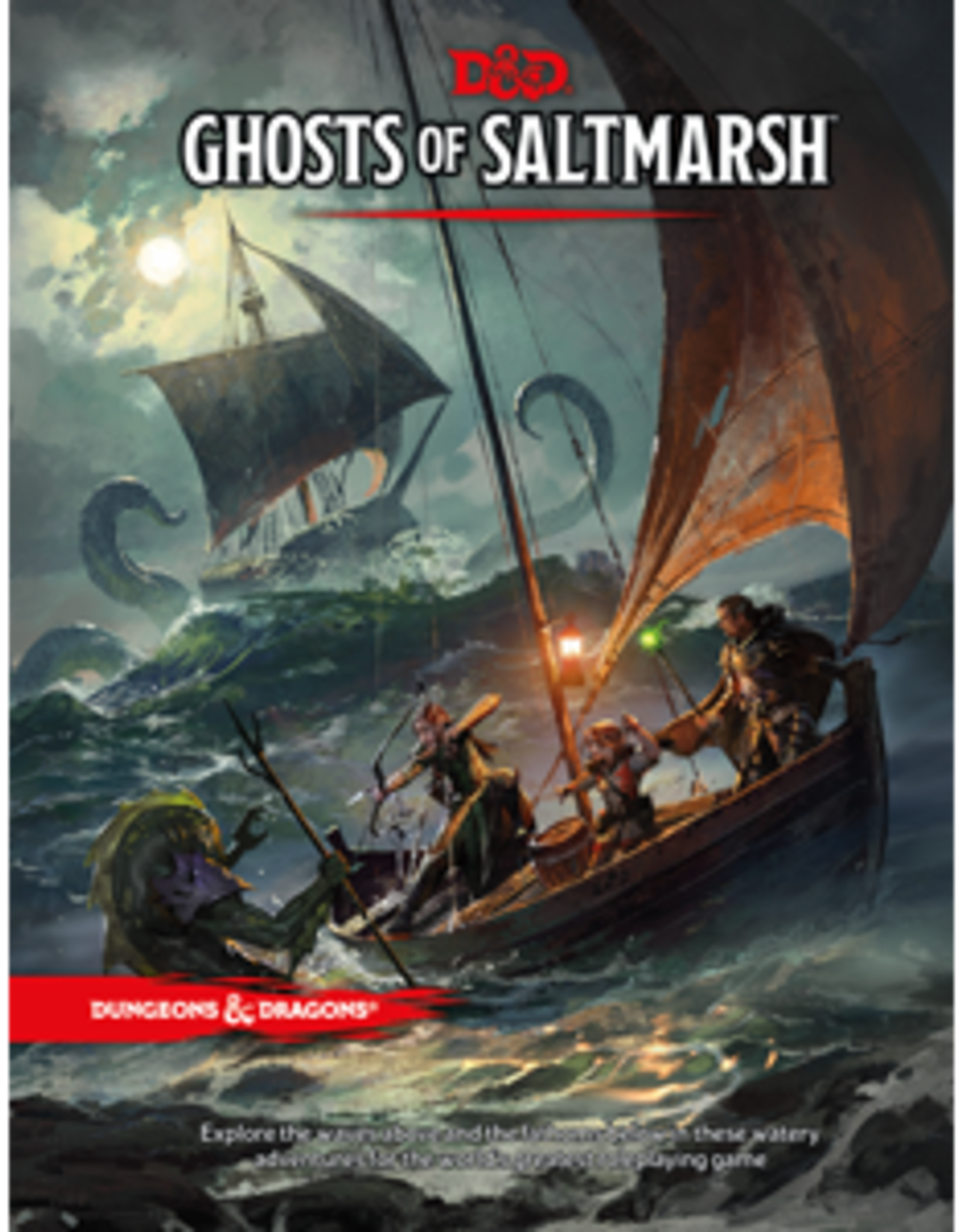 Wizards of the Coast Dungeons & Dragons Ghosts of Saltmarsh