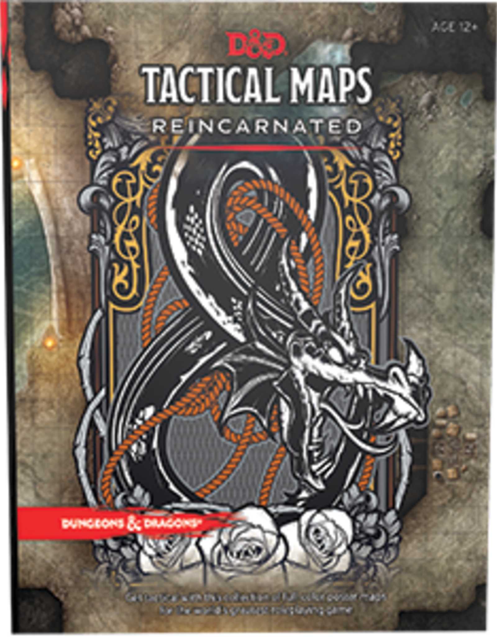 Wizards of the Coast Dungeons & Dragons Tactical Maps Reincarnated