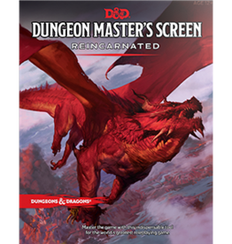 Wizards of the Coast D&D Dungeon Master's Screen Reincarnated