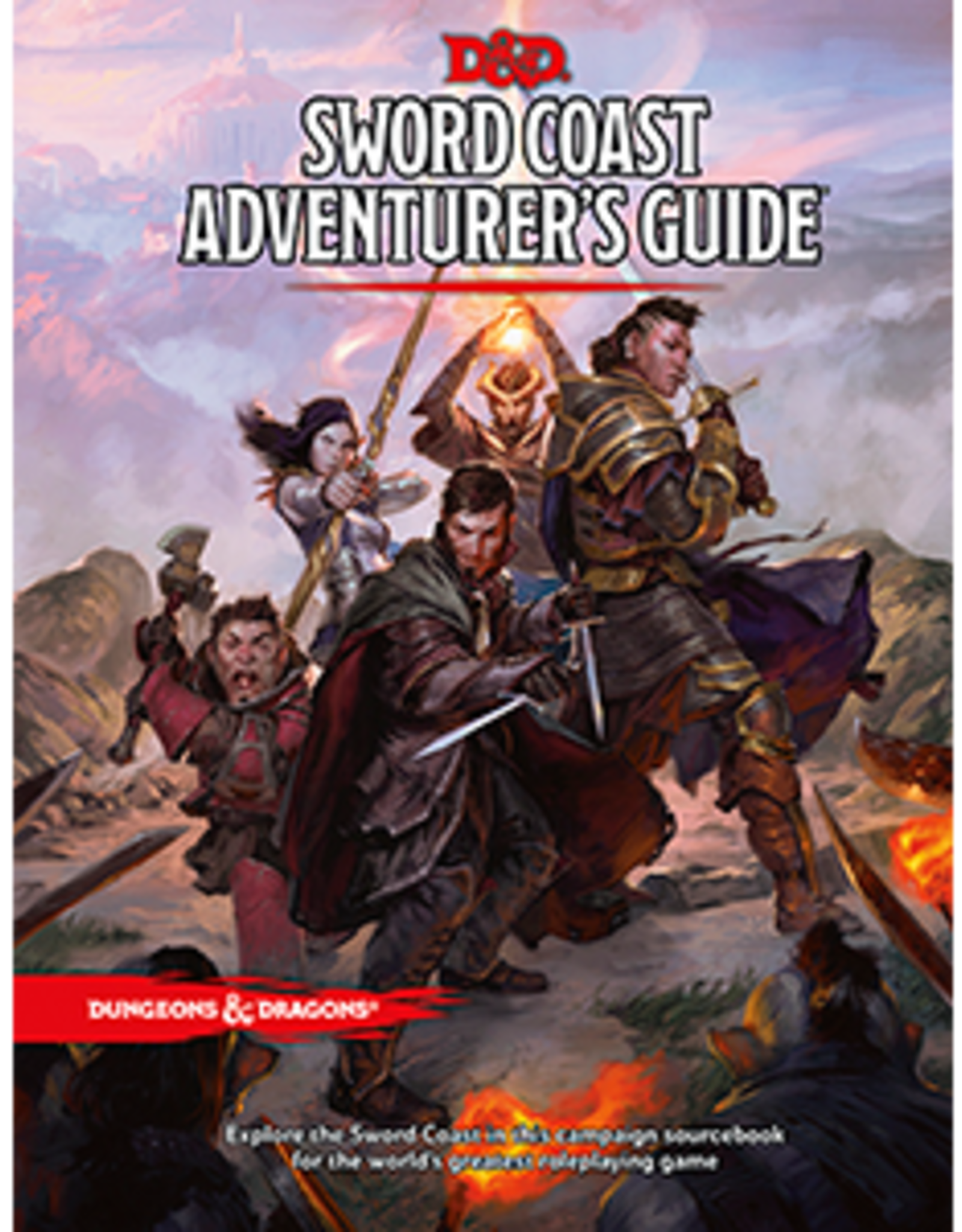 Wizards of the Coast Dungeons & Dragons Sword Adventurer's Coast Guide