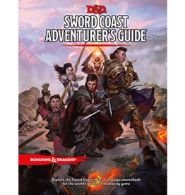Wizards of the Coast D&D Sword Adventurer's Coast Guide