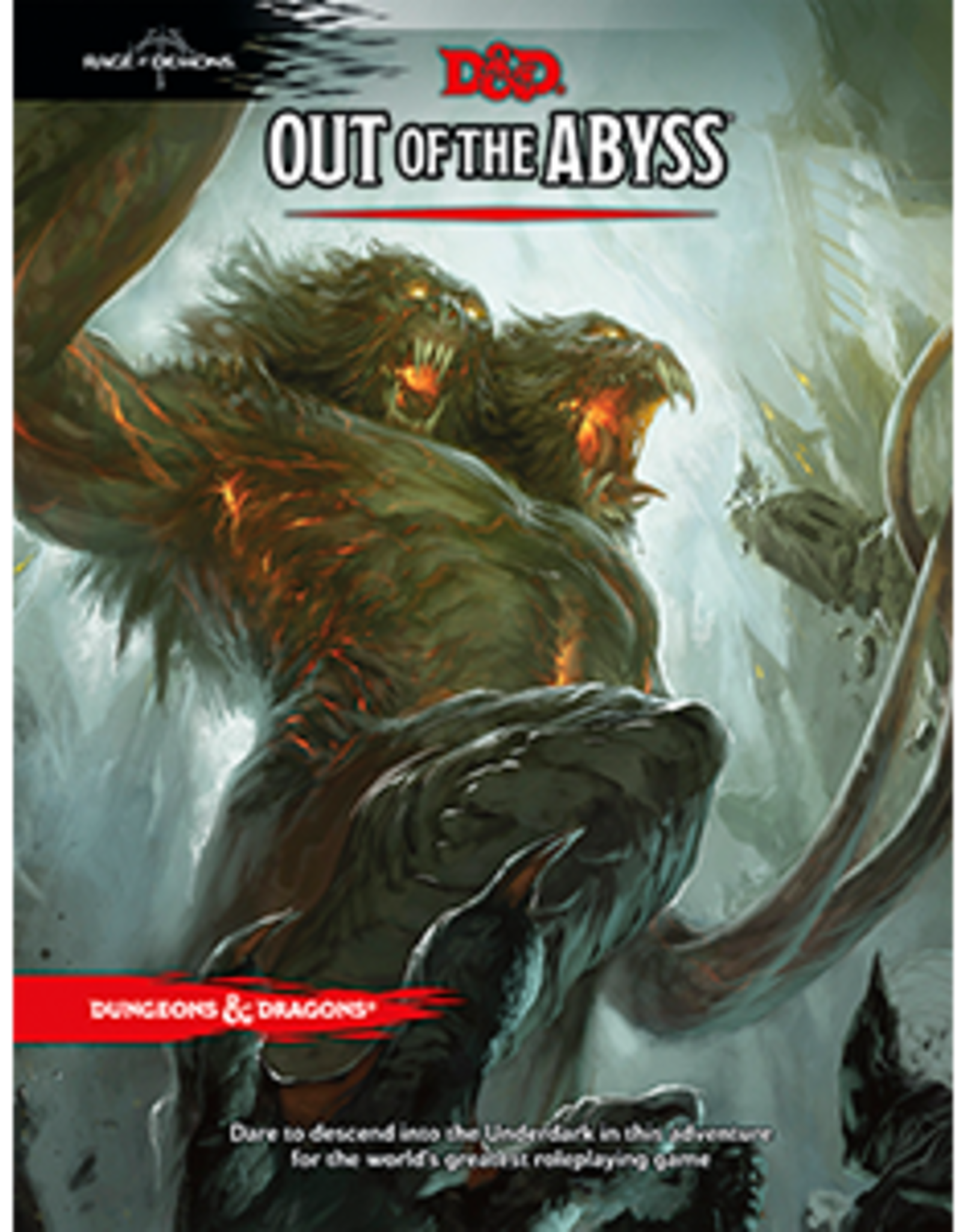 Wizards of the Coast Dungeons & Dragons Out of the Abyss