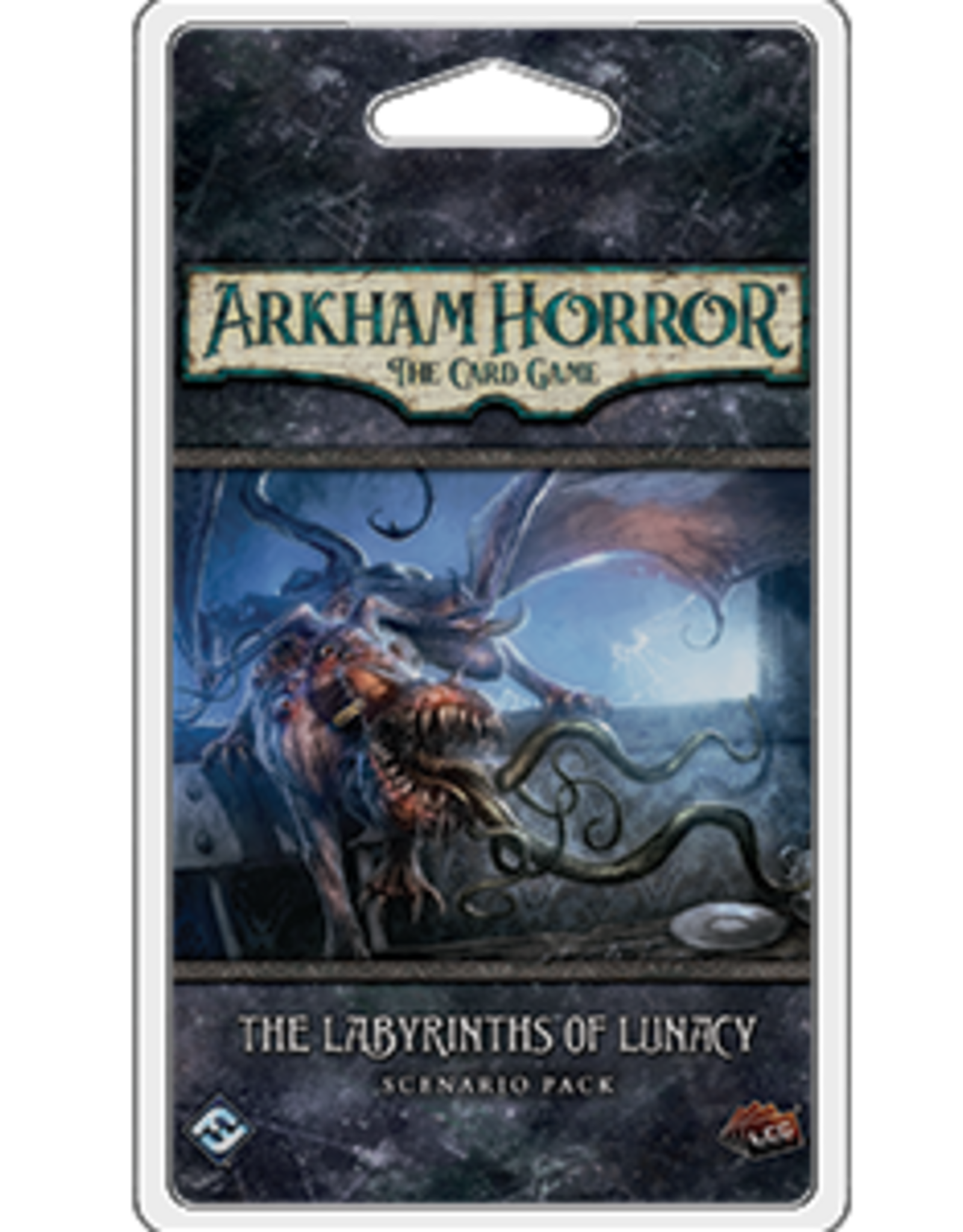 Fantasy Flight Arkham Horror LCG The Labyrinths of Lunacy Scenario Pack