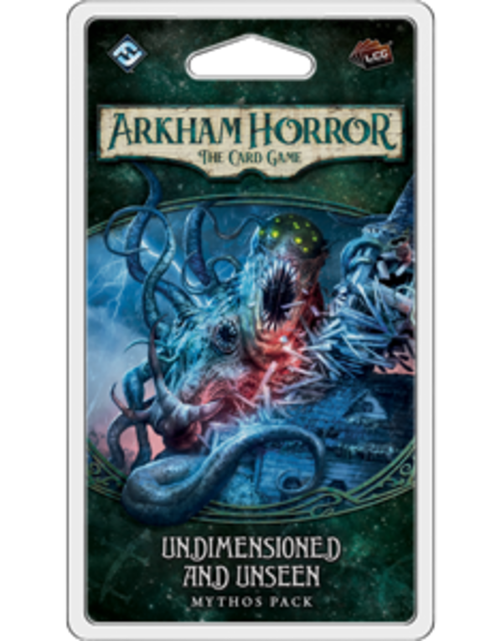 Fantasy Flight Arkham Horror LCG Undimensioned and Unseen Mythos Pack