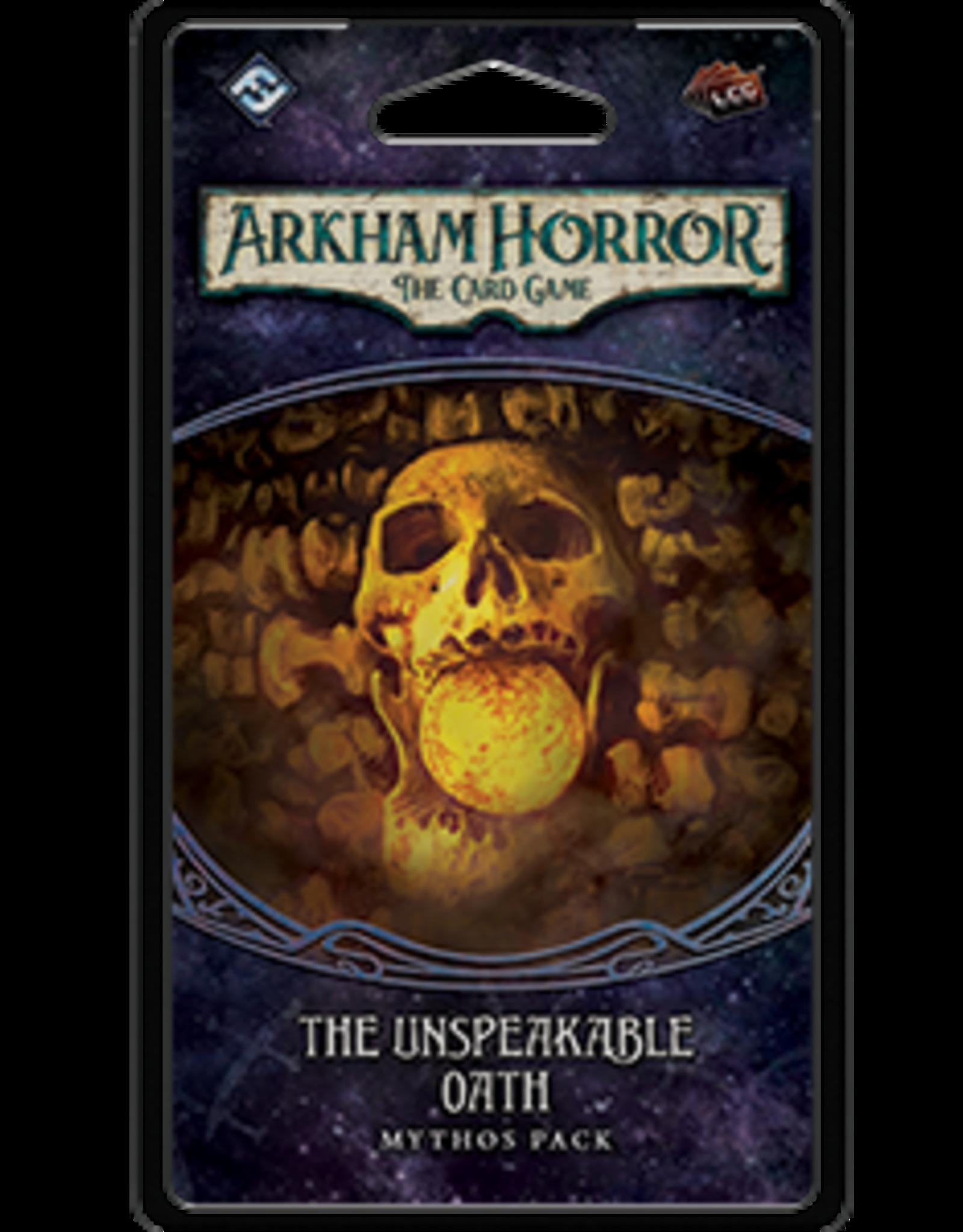 Fantasy Flight Arkham Horror LCG The Unspeakable Oath Mythos Pack
