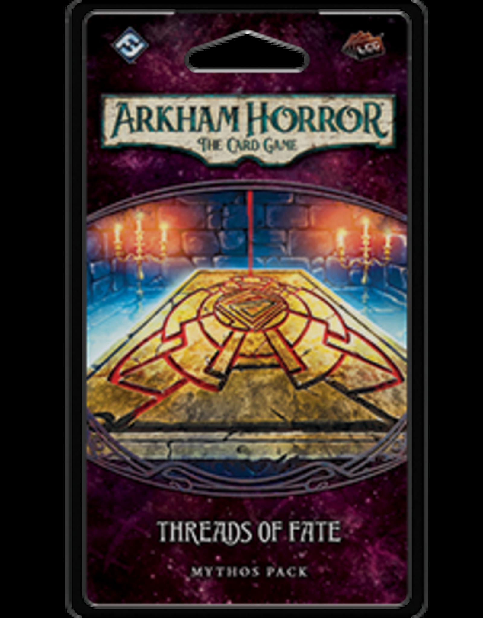 Fantasy Flight Arkham Horror LCG Threads of Fate Mythos Pack