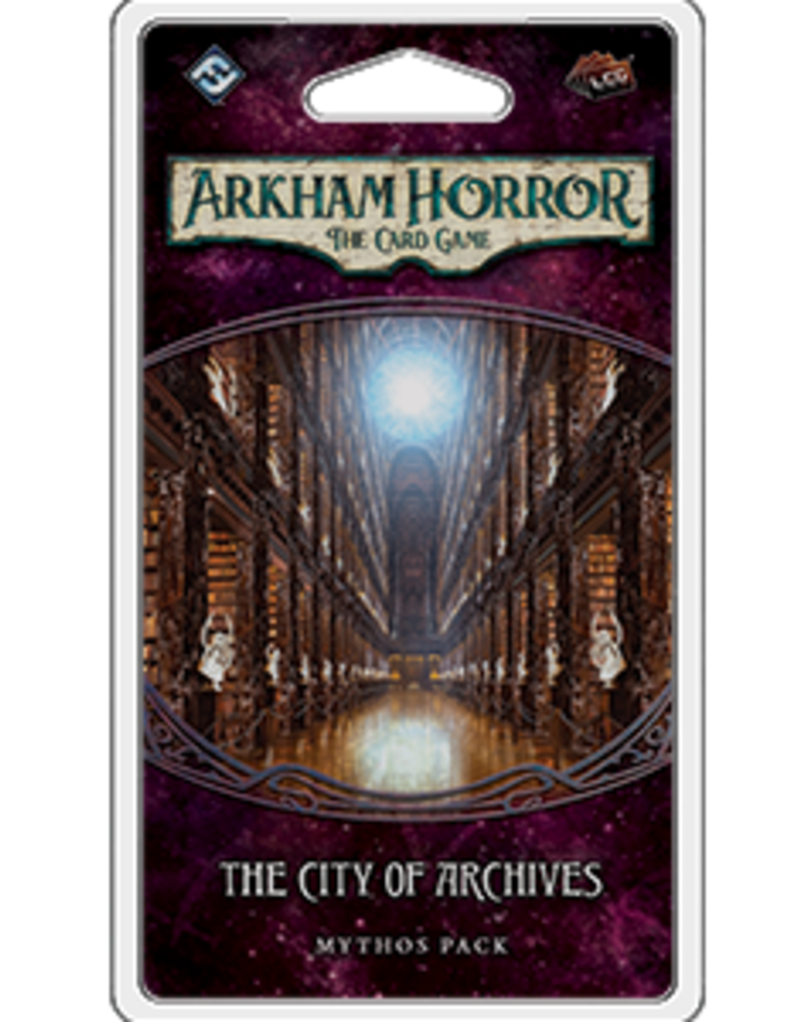 Fantasy Flight Arkham Horror LCG The City of Archives Mythos Pack