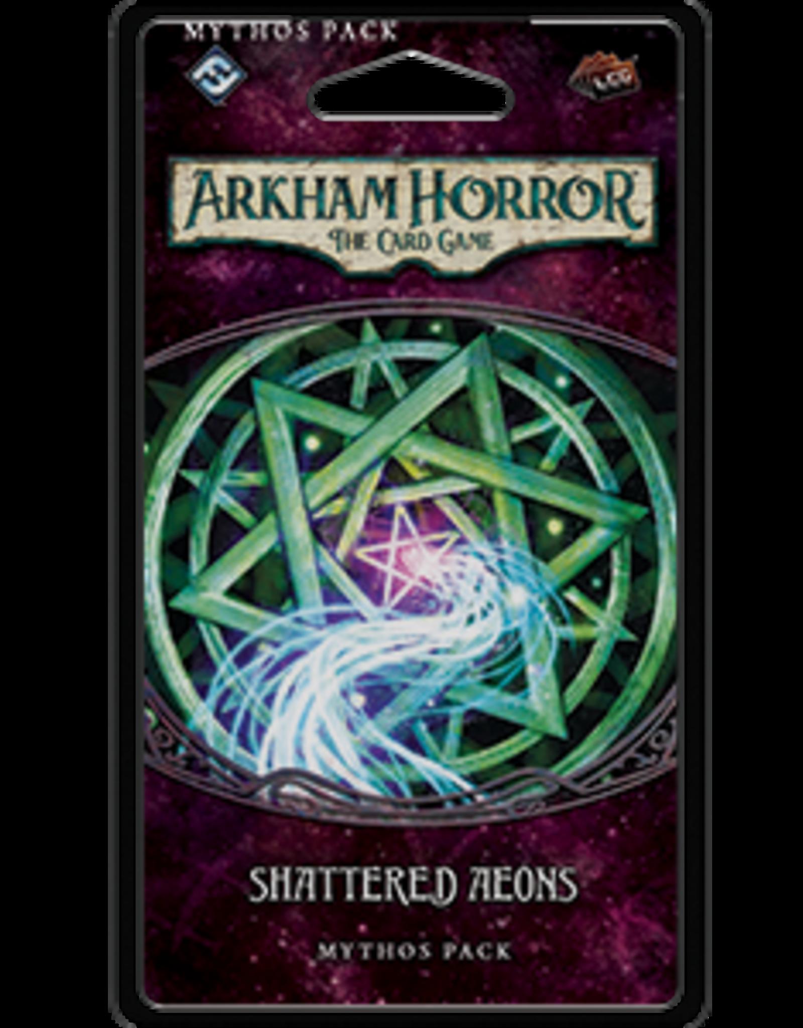 Fantasy Flight Arkham Horror LCG Shattered Aeons Mythos Pack