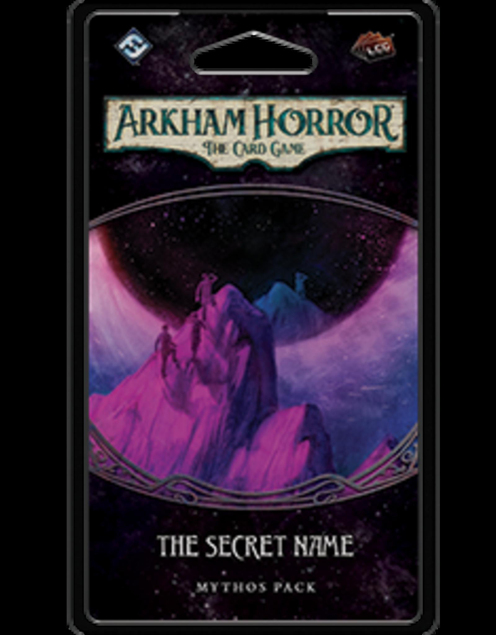 Fantasy Flight Arkham Horror LCG The Secret Name Mythos Pack
