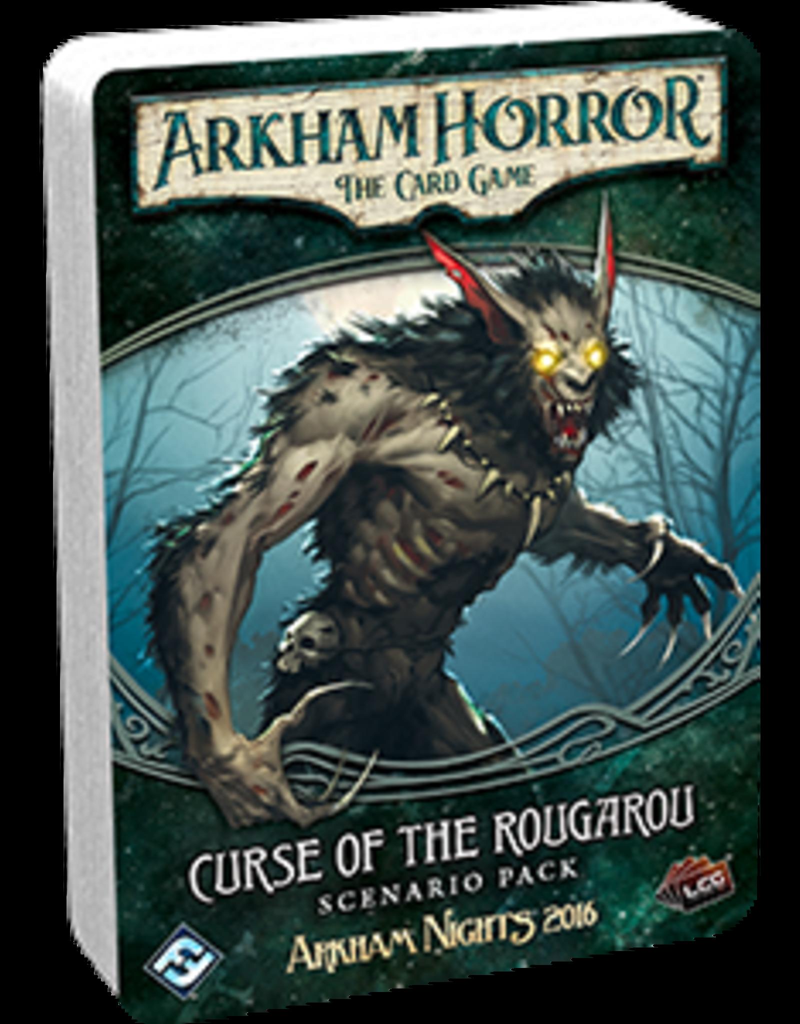 Fantasy Flight Arkham Horror LCG Curse of the Rougarou Scenario Pack
