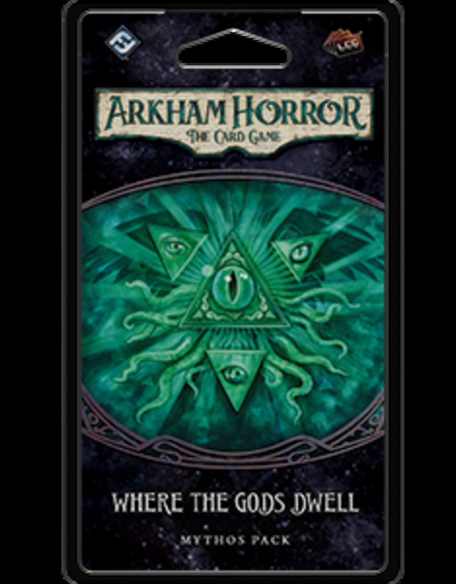 Fantasy Flight Arkham Horror LCG Where the Gods Dwell Mythos Pack