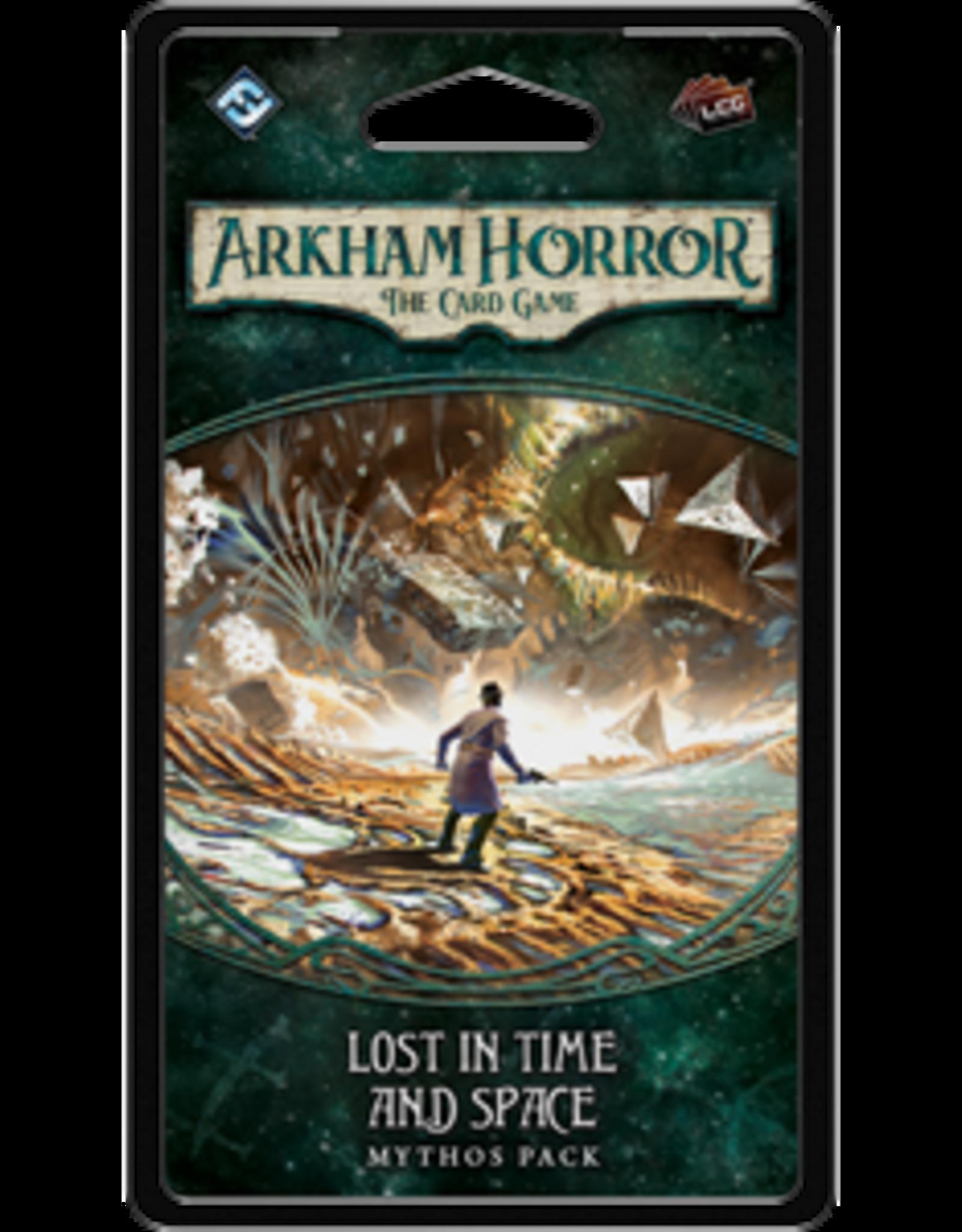 Fantasy Flight Arkham Horror LCG Lost in Time and Space Lost in Time and Space Mythos Pack
