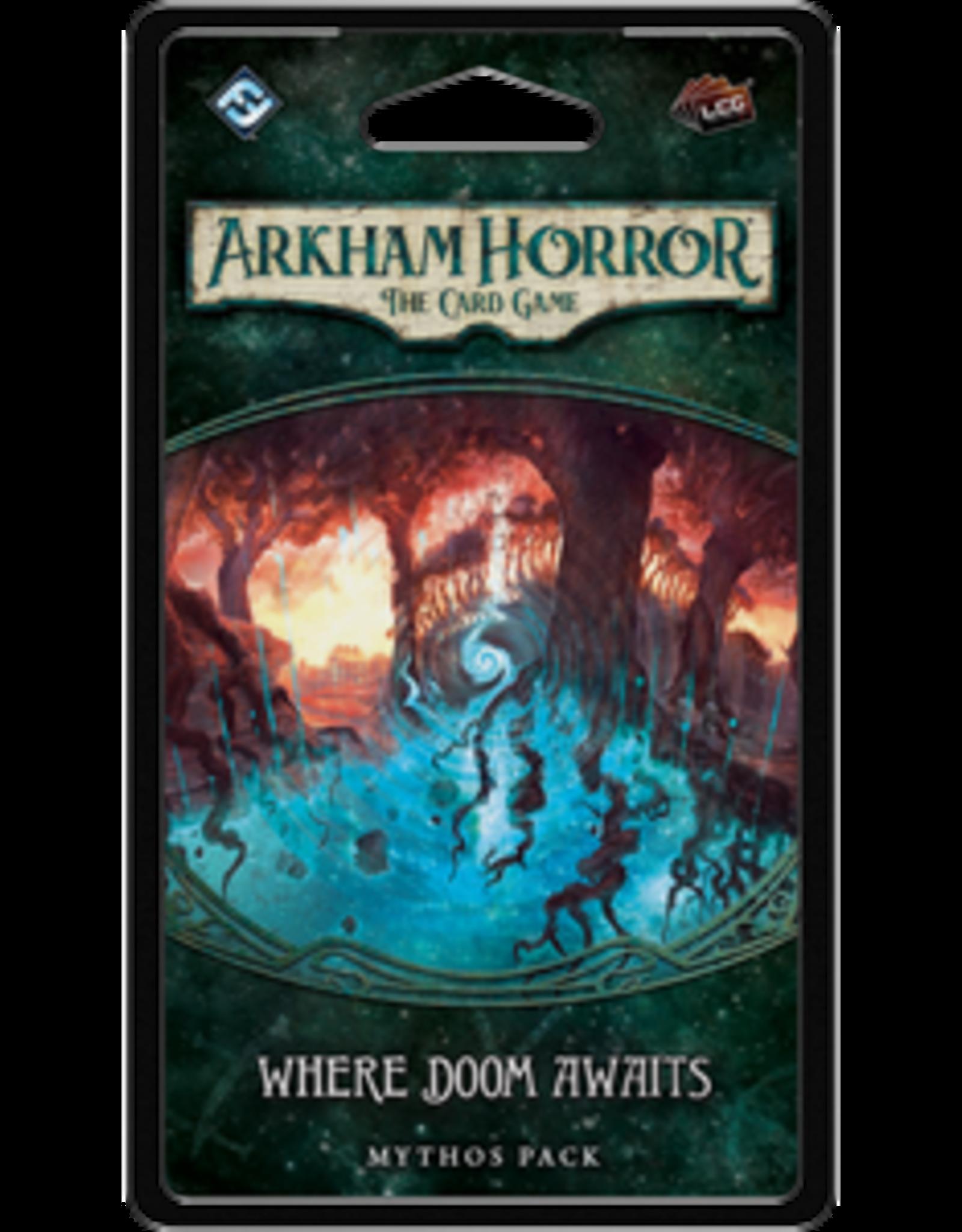 Fantasy Flight Arkham Horror LCG Where Doom Awaits Mythos Pack
