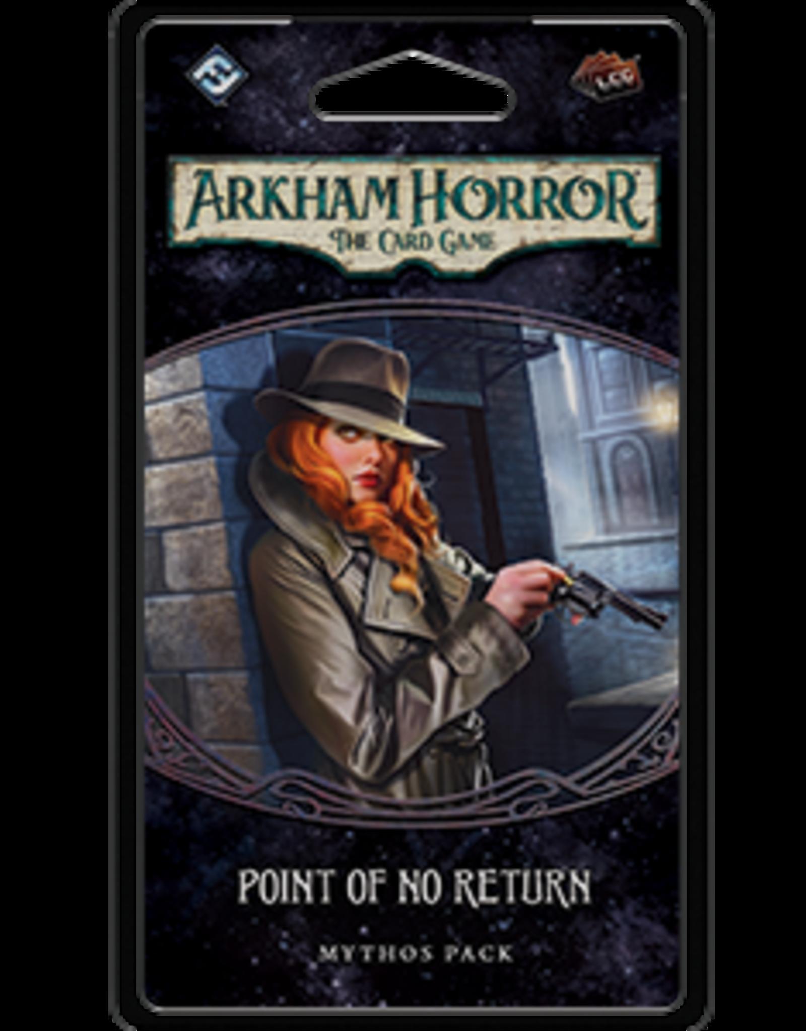 Fantasy Flight Arkham Horror LCG Point of No Return Mythos Pack