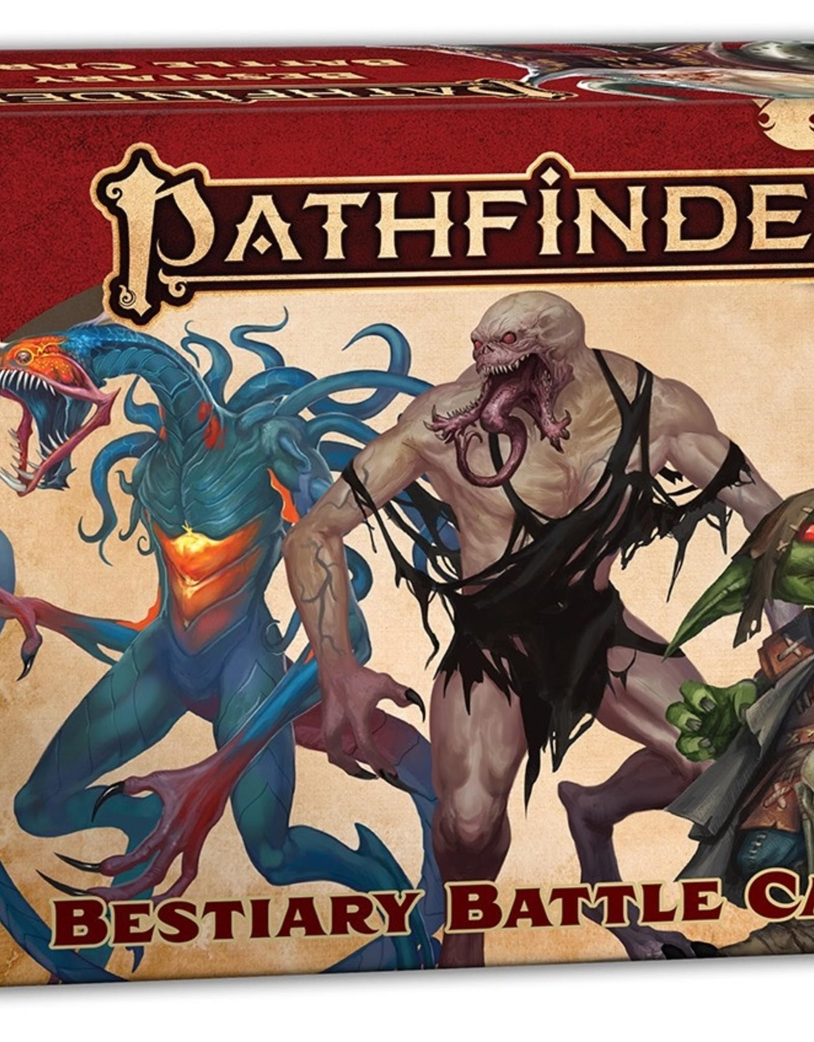 Paizo Publishing Pathfinder 2nd Edition Bestiary Battle Cards