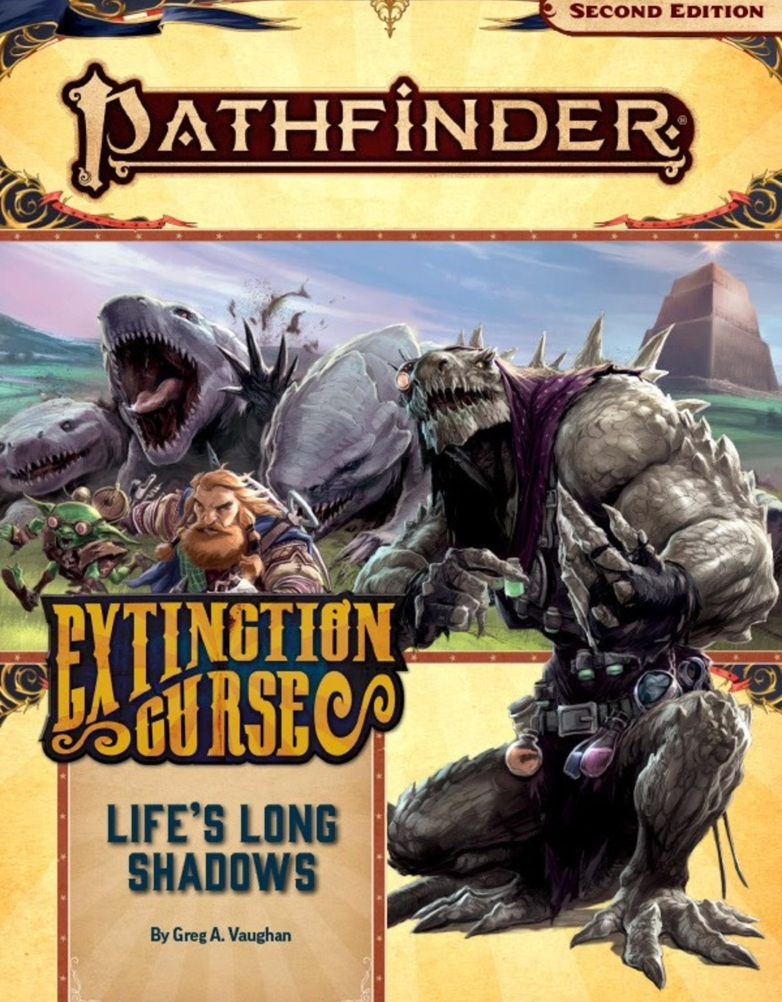 Paizo Publishing Pathfinder 2e Extinction Curse Pt 3 Life's Long Shadows