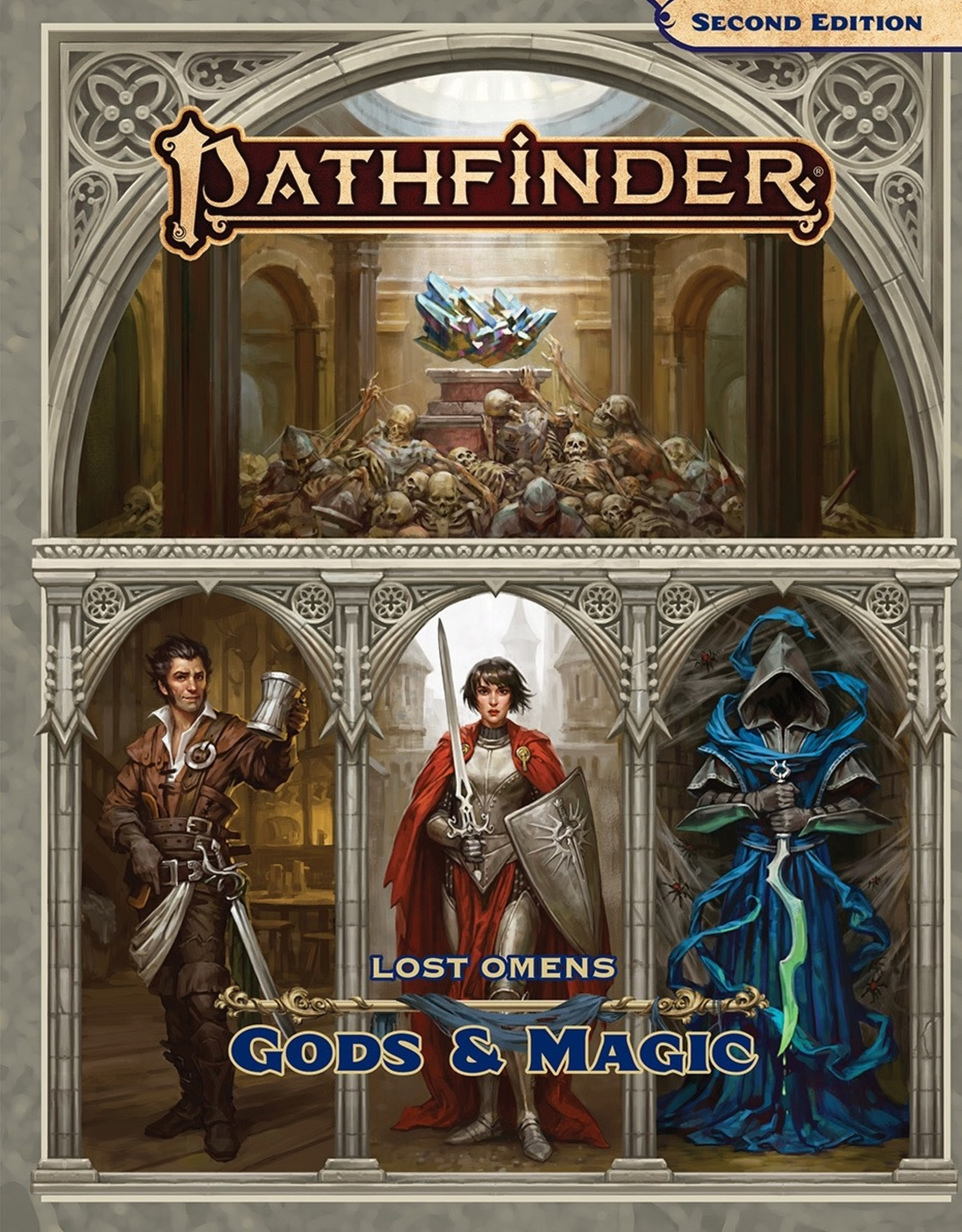 Paizo Publishing Pathfinder 2nd Edition Lost Omens Gods & Magic