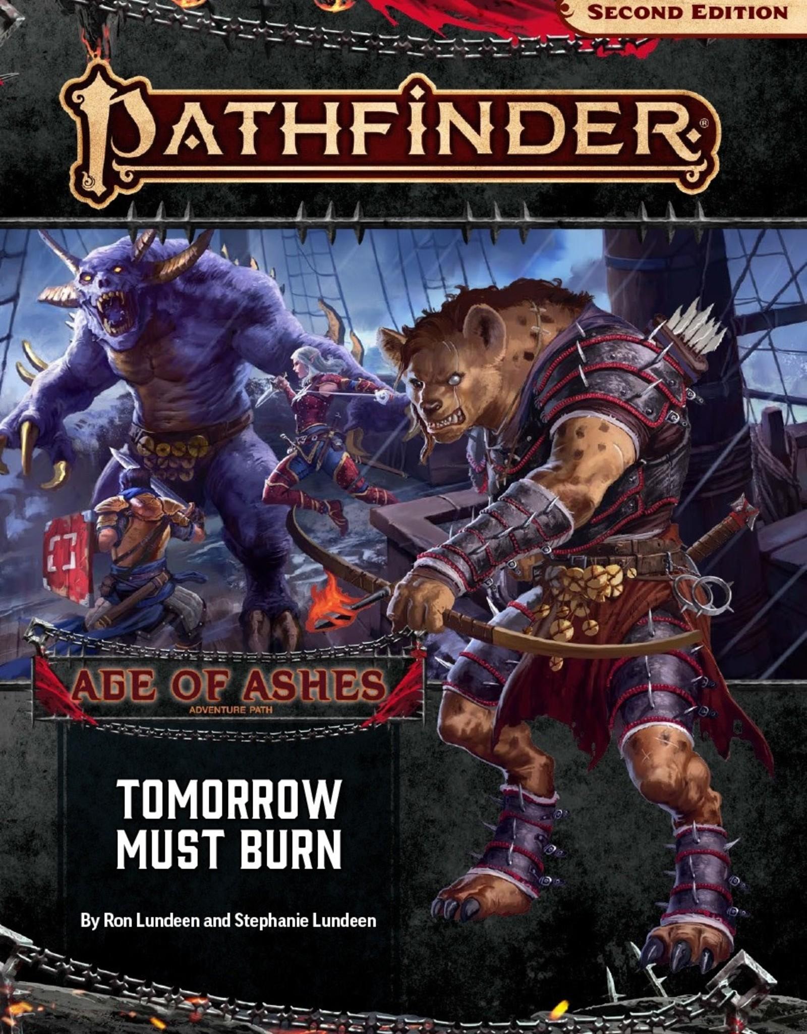 Paizo Publishing Pathfinder 2nd Edition Age of Ashes Part 3 of 6 Tomorrow Must Burn