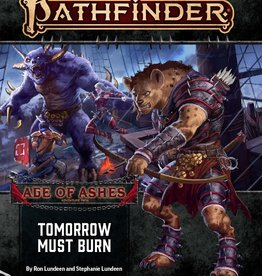 Paizo Publishing Pathfinder 2e Age of Ashes Pt 3 Tomorrow Must Burn