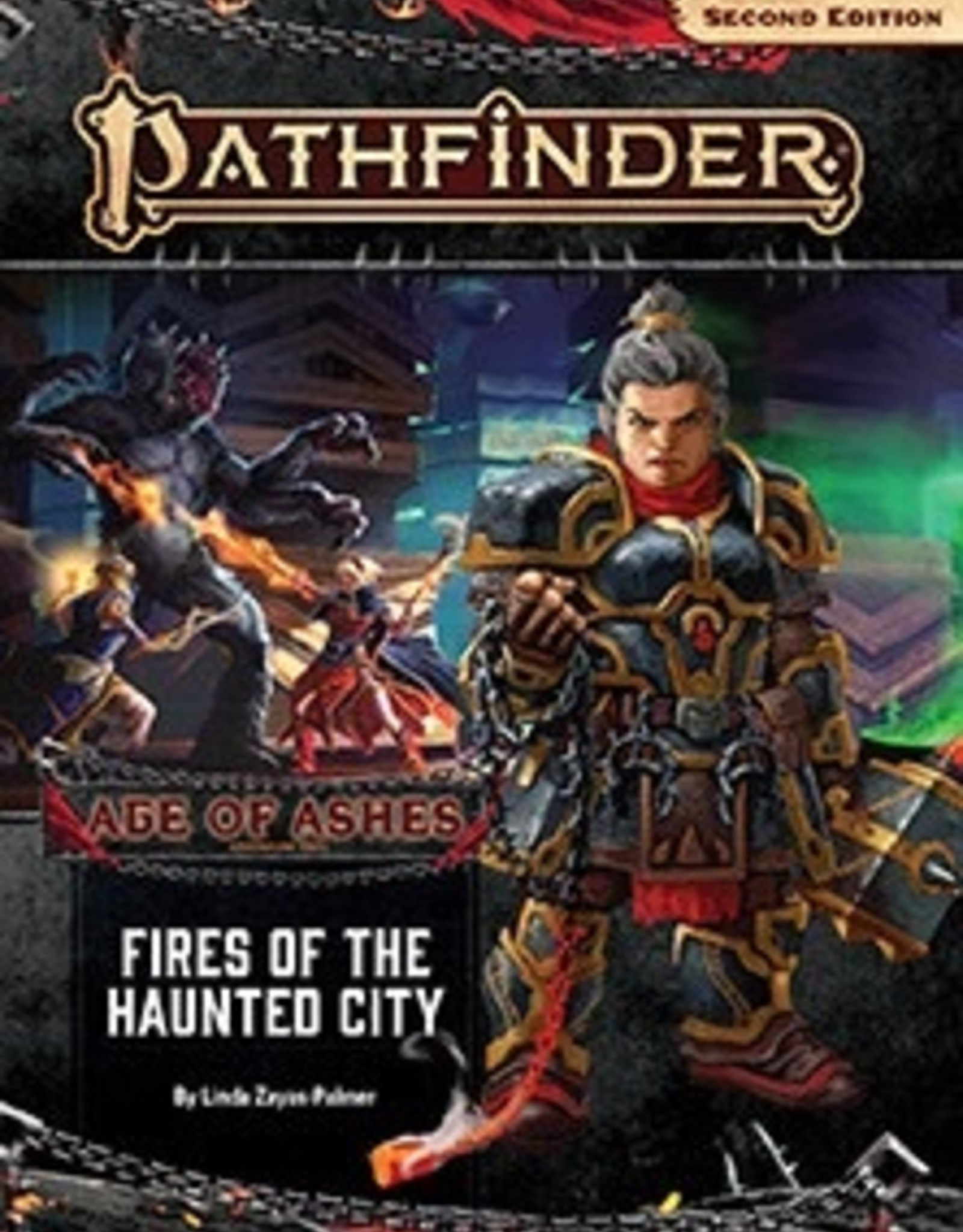 Paizo Publishing Pathfinder 2nd Edition Age of Ashes Part 4 of 6 Fires of the Haunted City