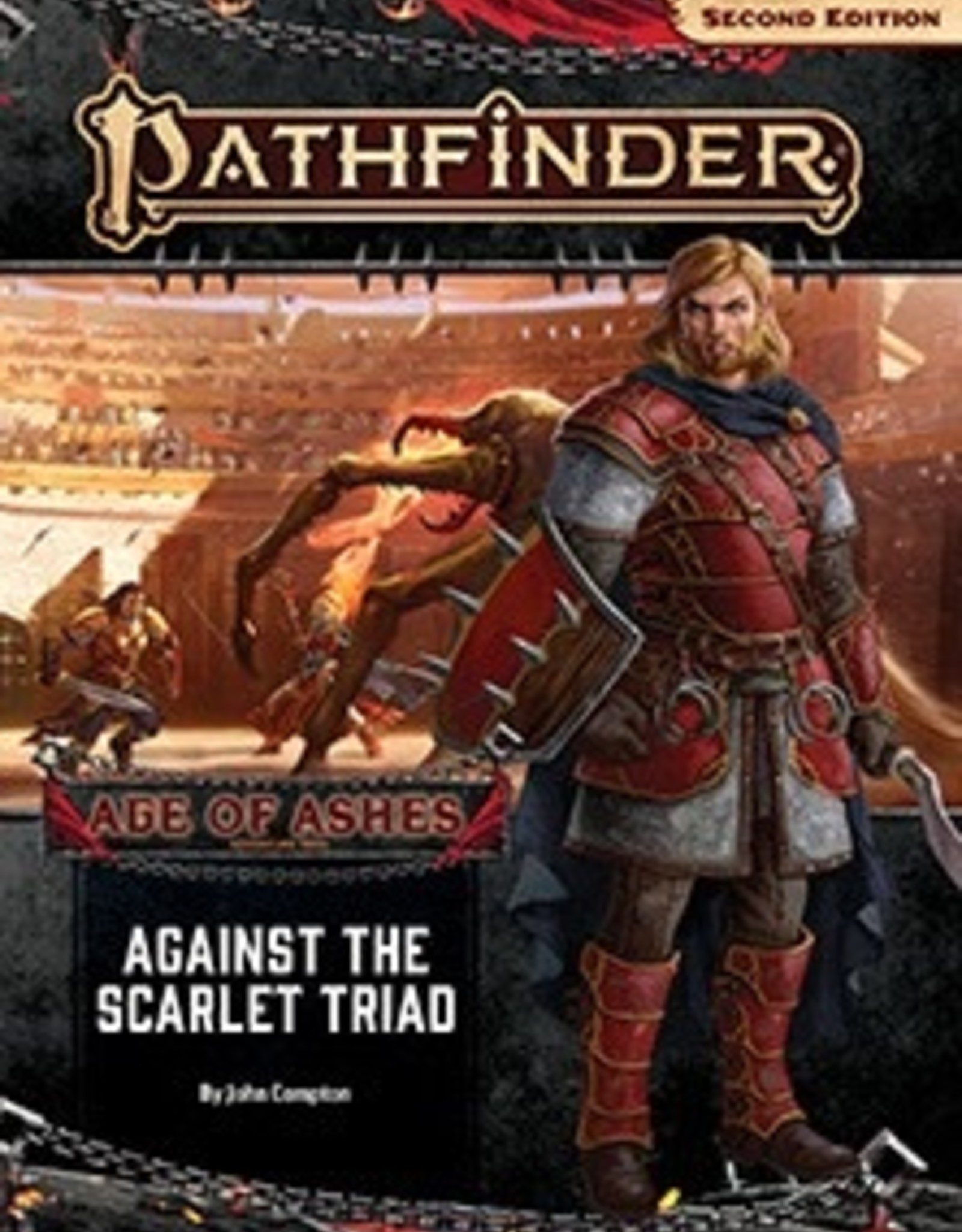 Paizo Publishing Pathfinder 2nd Edition Age of Ashes Part 5 of 6 Against the Scarlet Triad