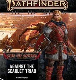 Paizo Publishing Pathfinder 2e Age of Ashes Pt 5 Against the Scarlet Triad