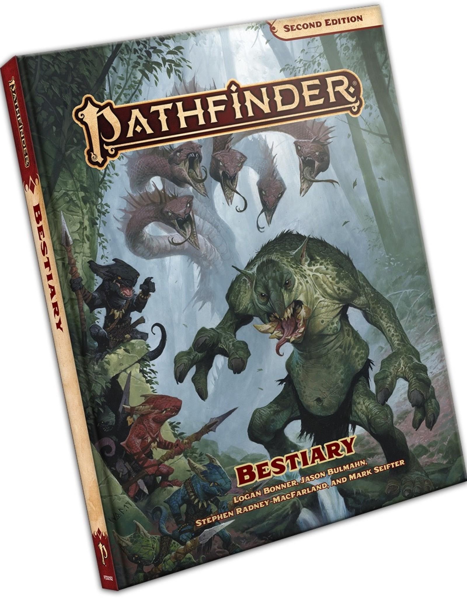 Paizo Publishing Pathfinder 2nd Edition Bestiary
