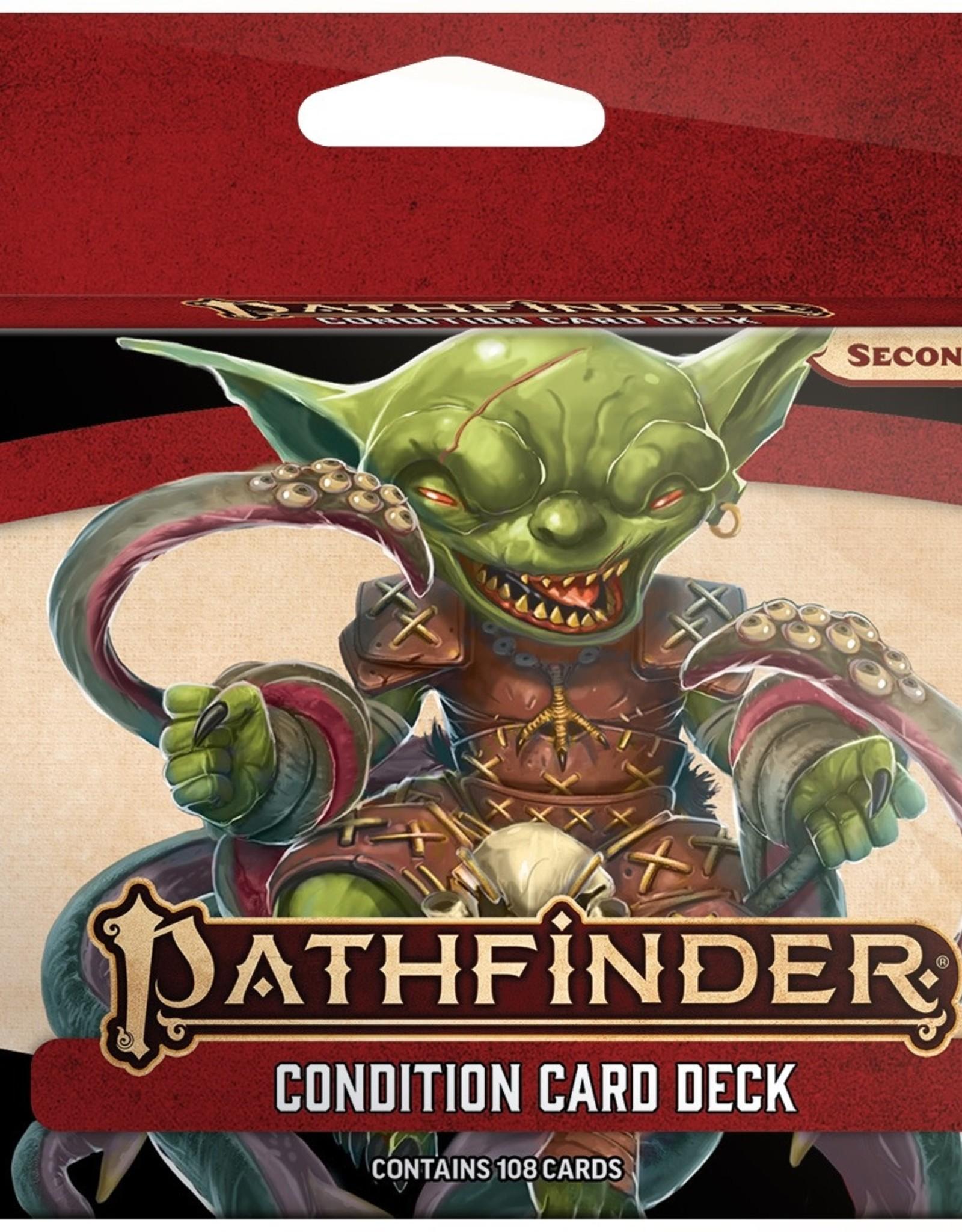 Paizo Publishing Pathfinder 2nd Edition Condition Card Deck