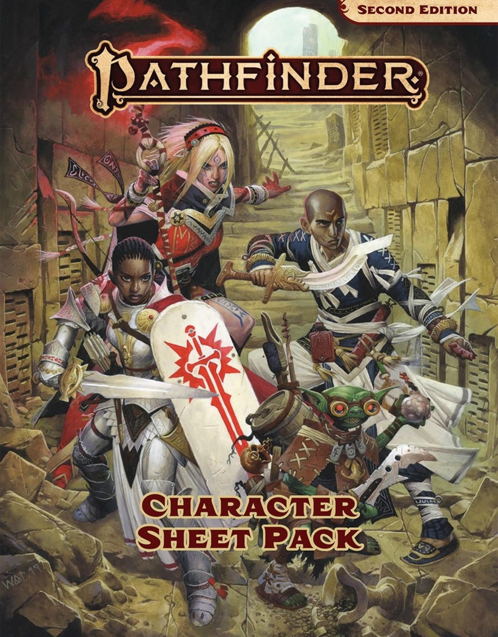 Paizo Publishing Pathfinder 2nd Edition Character Sheet Pack