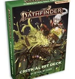 Paizo Publishing Pathfinder 2e Critical Hit Deck