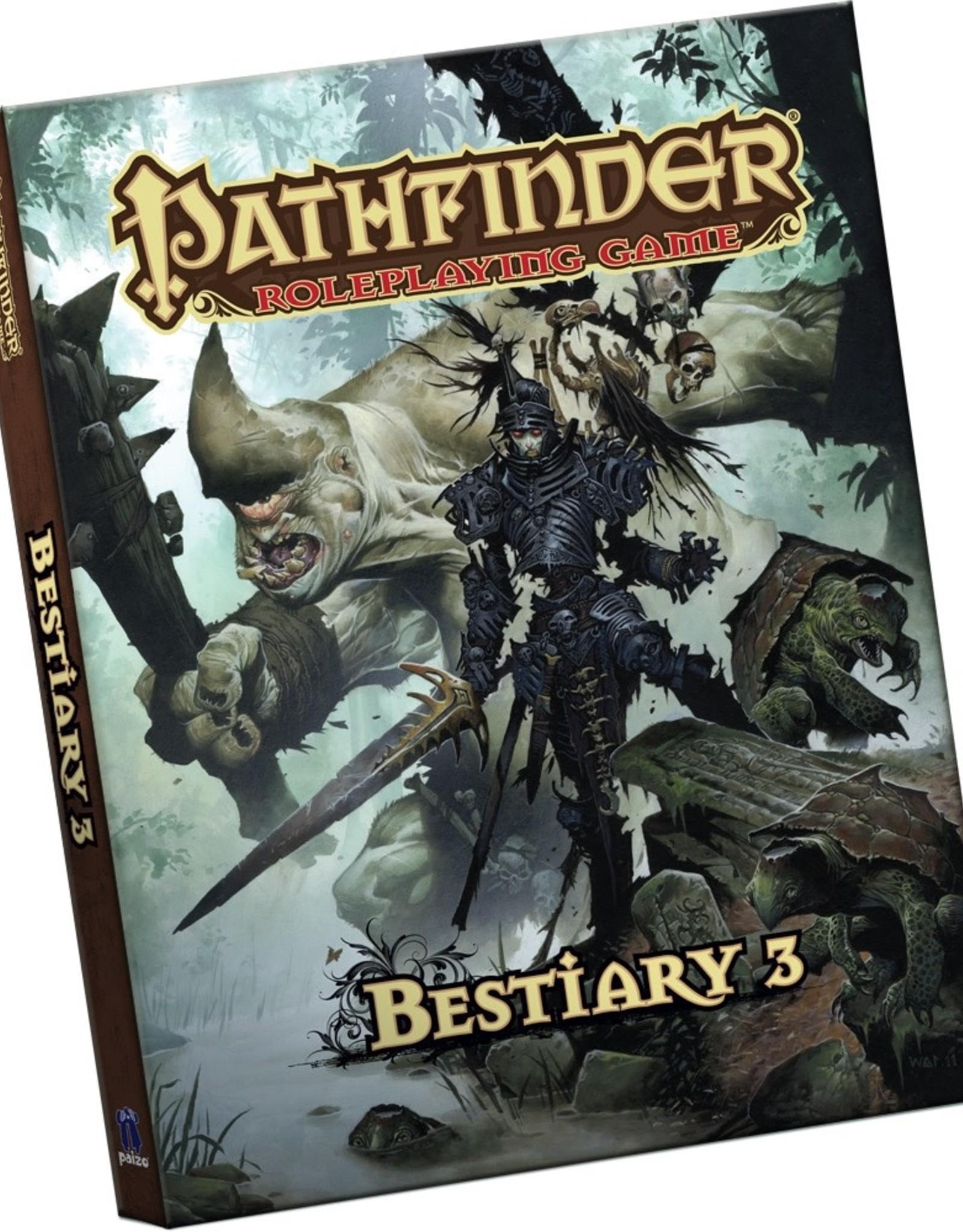 Paizo Publishing Pathfinder Pocket Bestiary 3