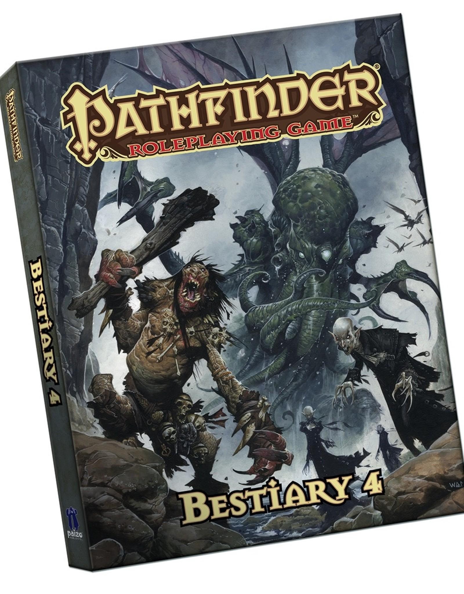 Paizo Publishing Pathfinder Pocket Bestiary 4