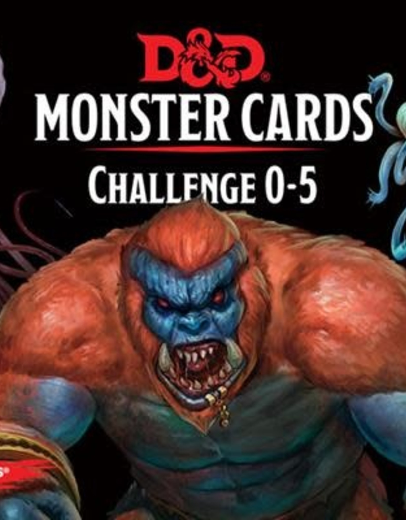 Wizards of the Coast Dungeons & Dragons Monster Cards Challenge 0-5
