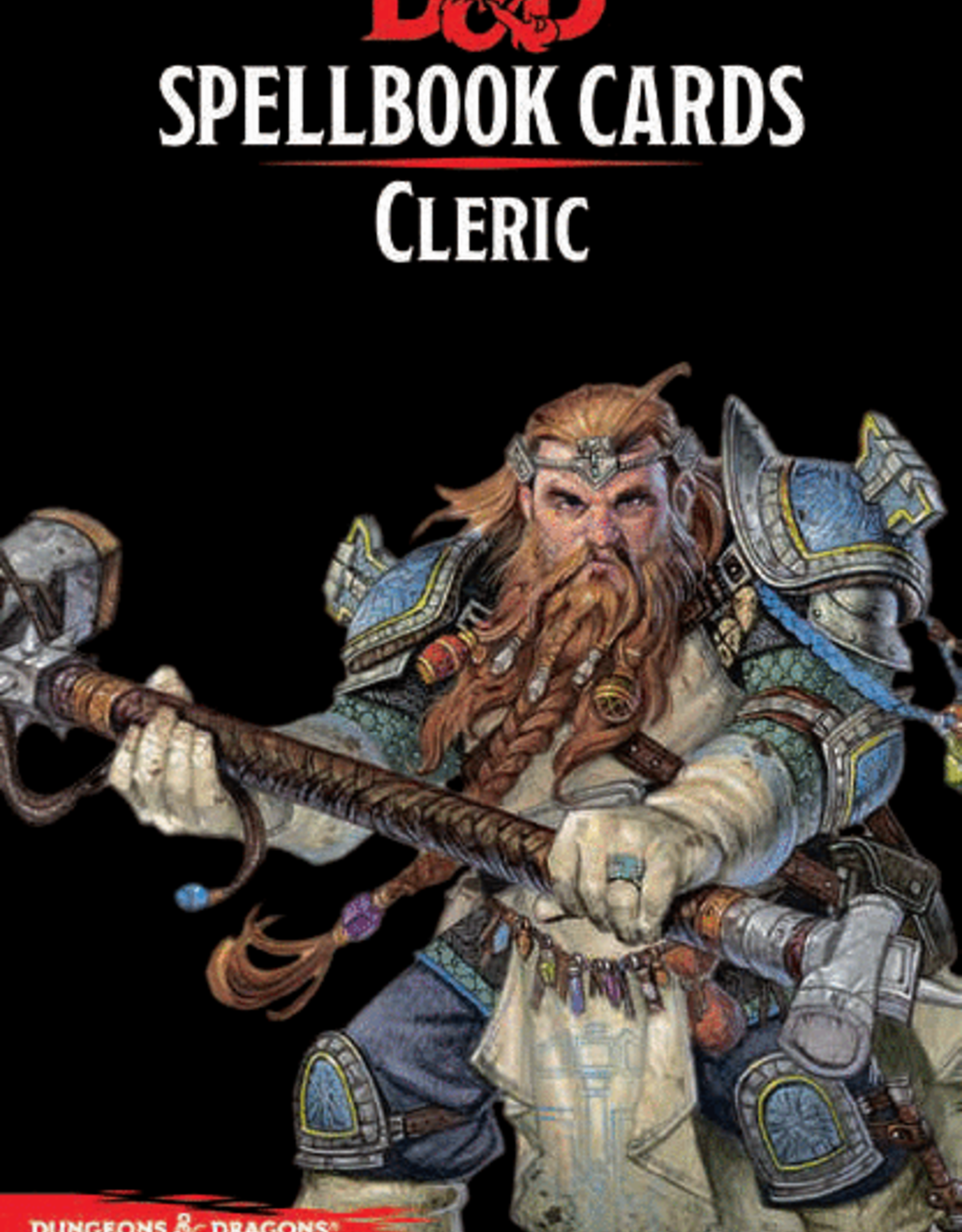 Wizards of the Coast Dungeons & Dragons Cleric Spell Deck Revised