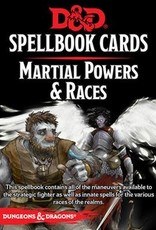 Wizards of the Coast Dungeons & Dragons Spellbook Cards Martial Powers & Races