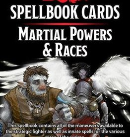 Wizards of the Coast D&D Spellbook Cards Martial Powers & Races